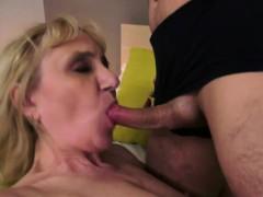 Horny Granny Get Banged By Boy