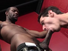 Mike King Tries Black Cock For The First Time
