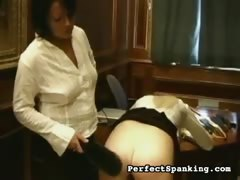 Plump ass Caning