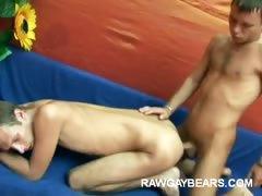 Nasty Gay Bears Having Raw Anal