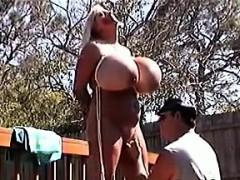 Slut With Massive Fake Tits