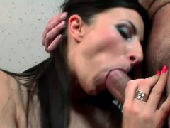 Hot Horny MILF Sucks Cock And Gets Fucked